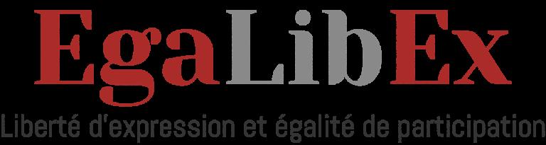 Logo Egalibex Liberté d'expression et égalité de participation